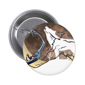 Wölfe Runder Button 5,7 Cm