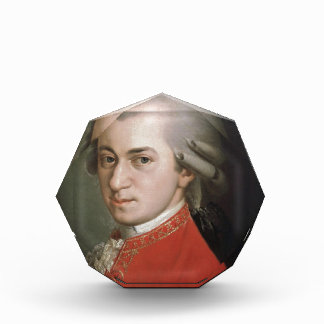Wolfgang Amadeus Mozart Acryl Auszeichnung