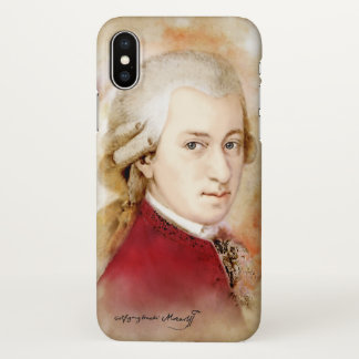 Wolfgang Amadeus Mozart - iphone X Fall iPhone X Hülle