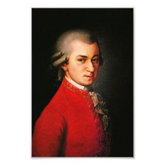 Wolfgang Amadeus Mozart-Porträt Fotografie