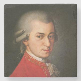 Wolfgang Amadeus Mozart-Porträt Steinuntersetzer