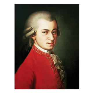 Wolfgang Amadeus Mozart Postkarte
