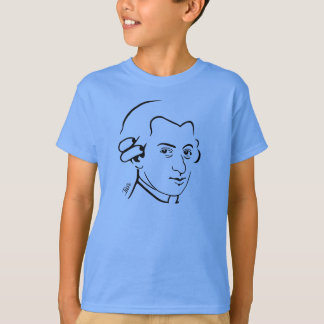 Wolfgang- Amadeus MozartT - Shirt für Kinder