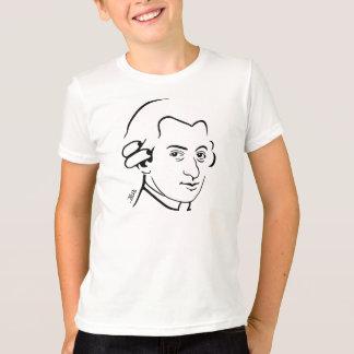 Wolfgang- Amadeus Mozartwecker-T - Shirt für