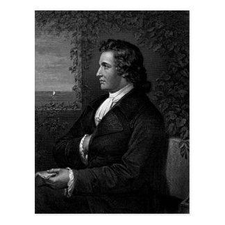 Wolfgang von Goethe Postkarte