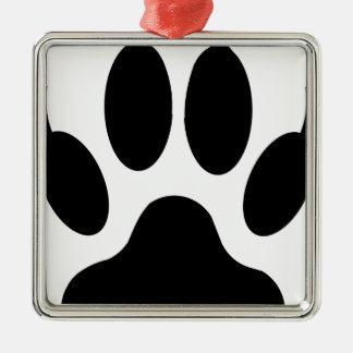 Wolfgreifer Silbernes Ornament