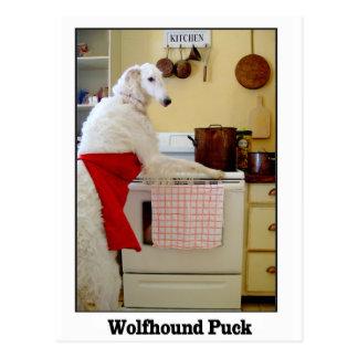 Wolfhound-Kobold Postkarte