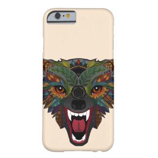 Wolfkampf-Flug ecru Barely There iPhone 6 Hülle