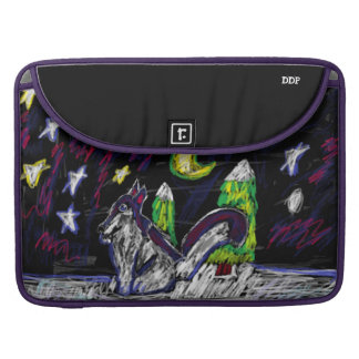 Wolfkunst 4 sleeve für MacBook pro