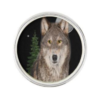 Wolfkunst Anstecknadel