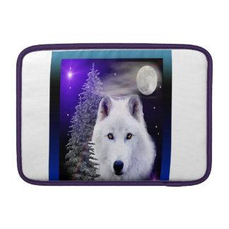 Wolfkunstentwurf MacBook Air Sleeve