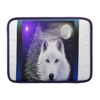 Wolfkunstentwurf MacBook Sleeve
