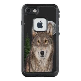 Wolfkunstfall LifeProof FRÄ' iPhone 8/7 Hülle