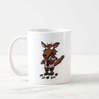 Wolfman Kampfläufer-TagesTasse Kaffeetasse