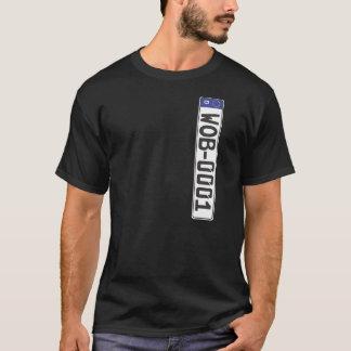 Wolfsburg-Kfz-Kennzeichen T-Shirt