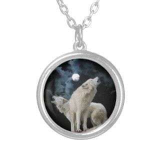 Wolfsong silberne Halskette