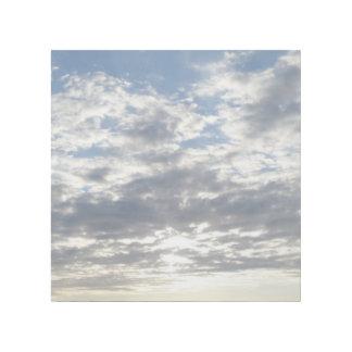 """Wolken 12"""""""" Verpackung der Galerie-X12 Galerieleinwand"""