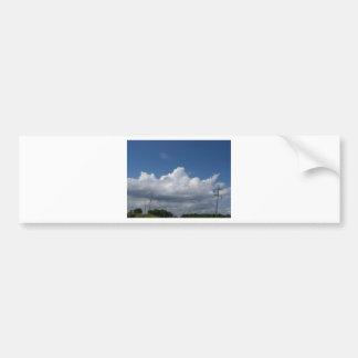 Wolken Autoaufkleber