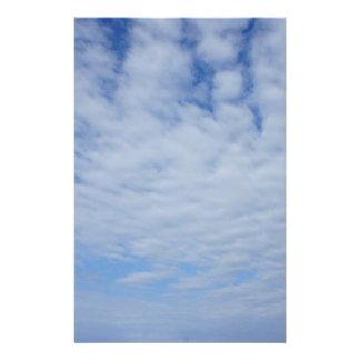 Wolken Briefpapier
