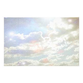 Wolken-Briefpapier Briefpapier