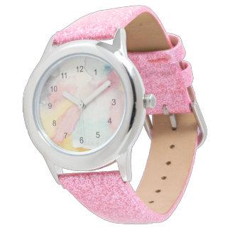 Wolken einer anderen Farbe Armbanduhr