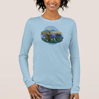 Wolken - Engel Shih Tzu (#1) Langarm T-Shirt