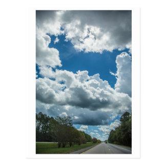Wolken-Fotografie Postkarte