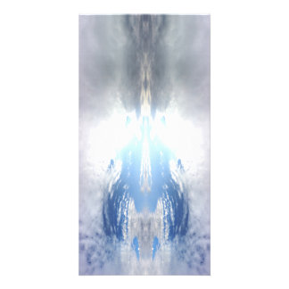 Wolken - Fraktale - Meditation - Salar de Uyuni Individuelle Foto Karte