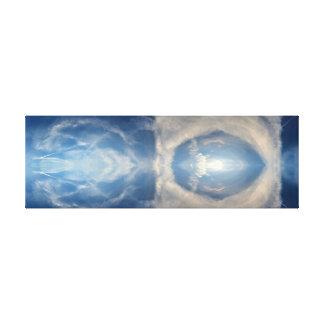 Wolken - Fraktale - Meditation - Salar de Uyuni Leinwand Druck