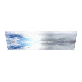Wolken - Fraktale - Meditation - Salar de Uyuni Leinwanddrucke