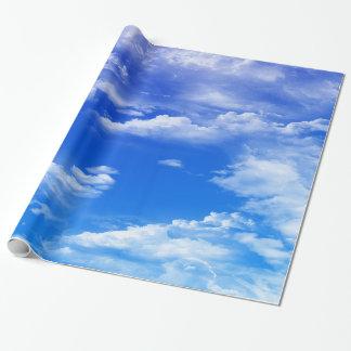 Wolken Geschenkpapier