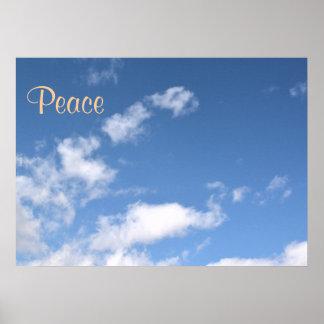 Wolken-Himmel-Blau-FriedensLiebe-Schicksals-Foto
