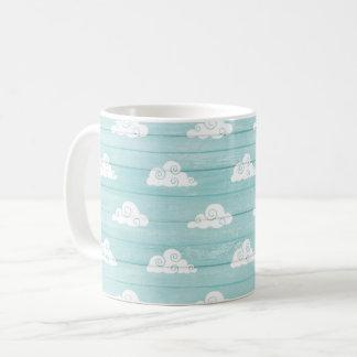 Wolken-Himmelblau Tasse