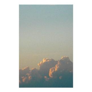 Wolken in Rumänien Briefpapier