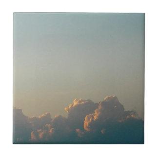 Wolken in Rumänien Fliese