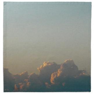 Wolken in Rumänien Serviette