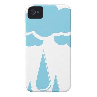 Wolken mit Nieselregen iPhone 4 Hüllen