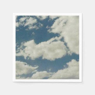 Wolken Papierserviette