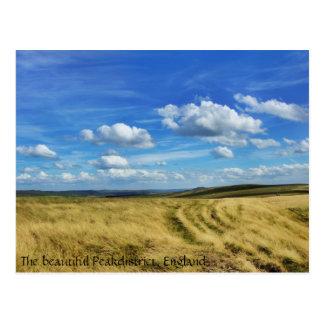 """Wolken-Safari"" - Peakdistrict, England Postkarte"