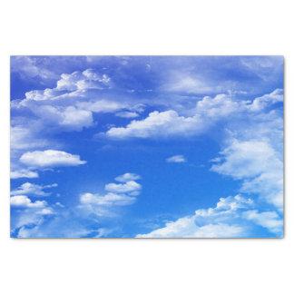Wolken Seidenpapier