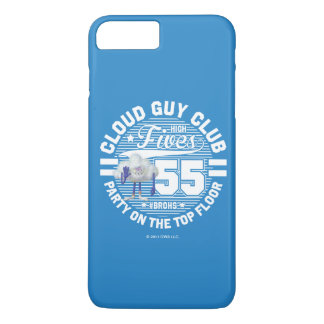 Wolken-Typ-Gruß der Schleppangel-| iPhone 8 Plus/7 Plus Hülle