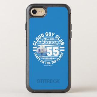 Wolken-Typ-Gruß der Schleppangel-  OtterBox Symmetry iPhone 8/7 Hülle