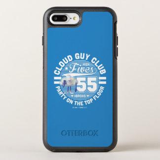 Wolken-Typ-Gruß der Schleppangel-| OtterBox Symmetry iPhone 8 Plus/7 Plus Hülle