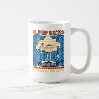Wolken-Typ-Tritte der Schleppangel-| Kaffeetasse