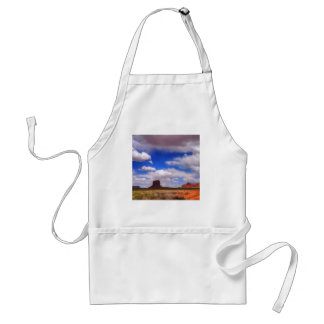 Wolken über der Wüste Schürze