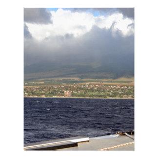 Wolken über Ozean Flyerdruck