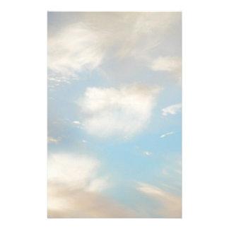 Wolken und blauer Himmel Briefpapier