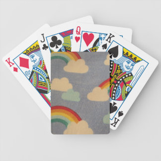 wolken und Bogen Iris Poker Karten