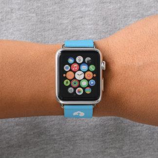 Wolken-und Kreuz-Ikone Apple Watch Armband