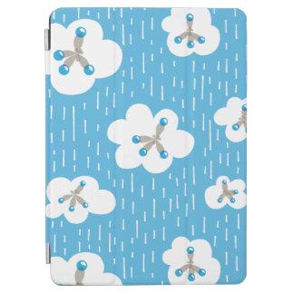 Wolken-und Methan-Molekül-blauer iPad Air Hülle